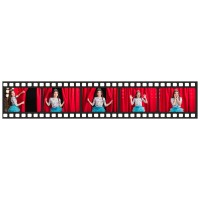 Print a photo as film-strip 40 x 7,7 cm size