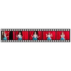 Print a photo as film-strip 40 x 7,7 cm size