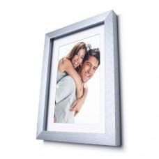A4 size photo in AL 3D frame Jansen 25 mm