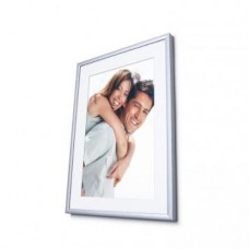 Photo in AL frame Nielsen 269-21 - size 20 x 30 cm Black matte